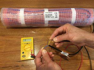 electric underfloor heating fault finding