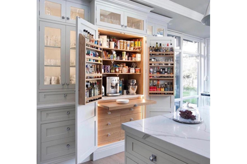 Amazing kitchen pantry design