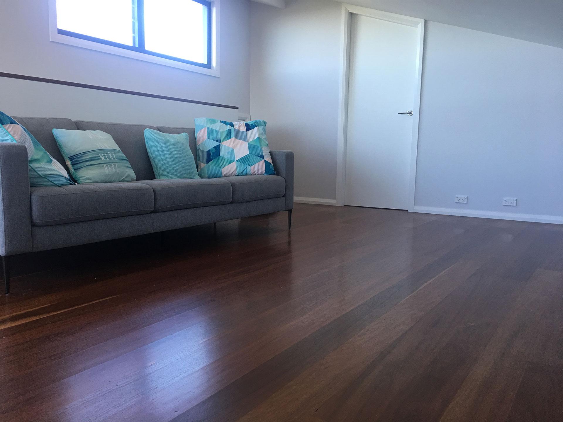 Under Timber Floor Heating