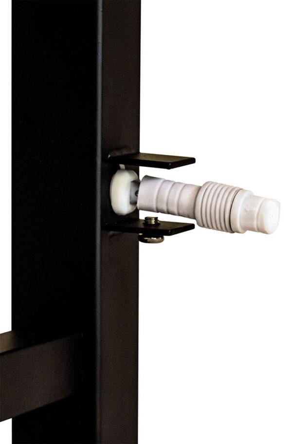 Lxsq8011mb Matt Black Straight Square Ladder Custom Heat